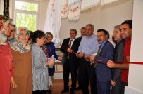 HALK EĞİTİM - Dilek'te Dikiş-Nakış Kursu Sona Erdi