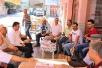 BELDE BELEDİYESİ - Germencik Belediye Başkanı Ümmet Akın, Çalışmalarına Devam Ediyor