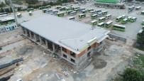 İTFAİYE ARACI - İtfaiye Terminal Müfreze Binası Şekilleniyor