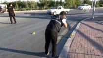 NUMUNE HASTANESİ - Konya'da Yol Verme Kavgası Açıklaması 2 Yaralı