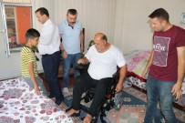 BELDEN - Şarapnel Parçası Sonrası Felç Kalan Iraklı Adama Akülü Sandalye