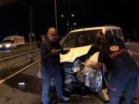 Ağrı'da Trafik Kazası Açıklaması 3 Yaralı