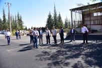 SANAYİ SİTESİ - Başkan Can, Asfalt Çalışmalarını Yerinde İnceledi