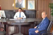 ABDULLAH ŞAHIN - Başkan Kızıldaş'tan, Kaymakam'a Hayırlı Olsun Ziyareti