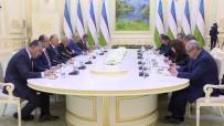 BİNALİ YILDIRIM - Binali Yıldırım Özbekistan Cumhurbaşkanı İle Görüştü