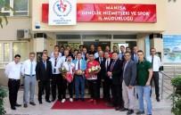 DÜNYA ŞAMPİYONU - Dünya Şampiyonu Kamal'a Görkemli Karşılama