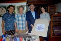ALMANYA - Ebru Sanatı Sınırları Aşıyor