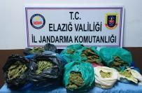 Elazığ'da 22 Kilo Esrar Ele Geçirildi