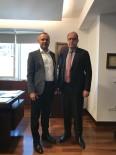 ERDEMIR - Ereğli TSO Yönetim Kurulu Başkanı Keleş, OYAK Otomotiv Ve Lojistik Grup Başkanı İle Görüştü