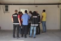 ADLİ KONTROL - FETÖ'nün 'Gaybubet' Evinde Yakalanan 5 Şüpheli Tutuklandı