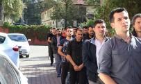 ADLİ KONTROL - FETÖ Şüphelisi 9 Askerden 3'Ü Tutuklandı