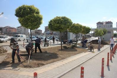 Karaman Devlet Hastanesinde Çevre Düzenleme Çalışması