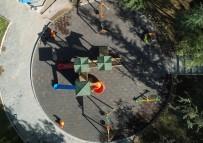 NEVŞEHİR BELEDİYESİ - Nevşehir'de Parkların Yenilenmesi Çalışmaları Devam Ediyor