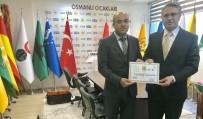SIGARA - Osmanlı Ocakları Derneği Türkiye Gençlik Kolları Başkanlığına Fazla Bal Getirildi