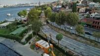(Özel) Eminönü Alibeyköy Tramvay Hattı İnşaatında  Son Durum Havadan Görüntülendi
