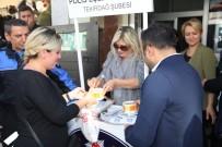EMNİYET MÜDÜRÜ - Polis Eşleri Aşure Dağıttı