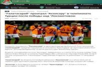 ZENIT - Rusya'da Gündem Akhisarspor Ve Galatasaray