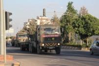 GÜVENLİ BÖLGE - Suriye sınırında hareketlilik sürüyor