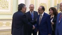 BİNALİ YILDIRIM - TBMM Başkanı Yıldırım, Özbekistan Cumhurbaşkanı İle Görüştü