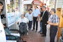 60 Yaşında Akülü Tekerlekli Sandalyesi Oldu
