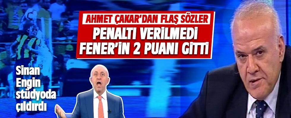 Ahmet Çakar:'PENALTI' dedi Sinan Engin çıldırdı