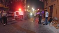 IŞIK İHLALİ - Alkollü Minibüs Şoförü Kırmızı Işıkta Geçip Otomobile Çarptı