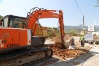 ŞEBEKE HATTI - Anamur'da İçmesuyu Çalışmaları Sürüyor