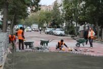 TAFLAN - Atakum'da 'Taş Parke' Hızı