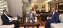 AZERI - Azerbaycan Ankara Büyükelçisi Hazer İbrahimi Vali Süleyman Elban'ı Ziyaret Etti