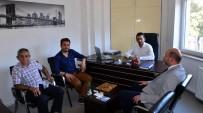 SALDıRGANLıK - Başkan Çetinbaş Ve Milletvekili Gazel, Psikoteknik Değerlendirme Merkezi'ni Ziyaret Etti