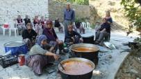 MUSTAFA YıLMAZ - Burhaniyeli Kadınların Yemek İmecesi
