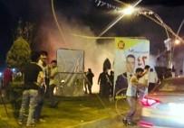 İTFAİYE ARACI - Erbil'de Patlama Açıklaması 1 Ölü, 3 Yaralı