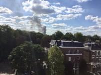 İTFAİYE ARACI - İngiltere'de Sosyal Tesiste Yangın