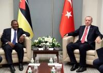 SLOVENYA - Mozambik Devlet Baskanı Nyusi İle Görüştü