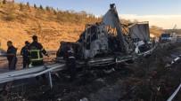 KİMYASAL MADDE - Niğde-Adana Karayolunda Feci Kaza