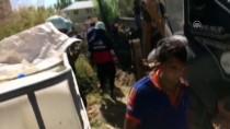 MEDİKAL KURTARMA - Su Borusunun İçine Düşen İşçi Kayboldu