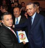TÜRKIYE GAZETECILER FEDERASYONU - TGF Genel Başkan Vekili Dim, Anadolu Medyasının Sorunlarını Cumhurbaşkanı Erdoğan'a Sundu