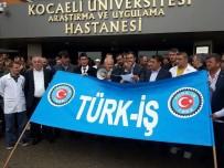 TÜRK METAL SENDIKASı - Türk-İş Kocaeli Üniversitesi'nde Çalışan Üyeleri İçin Bir Araya Geldi