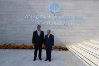 18 MAYıS - Vali Çakacak'tan Yeni Rektörlere 'Hayırlı Olsun' Ziyareti