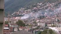 Bursa'da Bir Binada Patlama Sonucu Yangın Çıktı