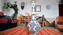 KATAR EMIRI - Çini Sanatçısından Katar Emiri'ne Çini Vazoyla Teşekkür