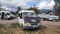 ZABITA EKİBİ - Çöp Toplama Alanında Kavda Çıktı 4 Kişi Yaralandı