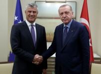 KOSOVA - Cumhurbaşkanı Erdoğan, Kosova Cumhurbaşkanı Thaçi İle Görüştü
