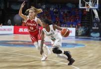 KADIN BASKETBOL TAKIMI - FIBA Dünya Kadınlar Basketbol Şampiyonası Açıklaması Fransa Açıklaması 78 - Türkiye Açıklaması 61