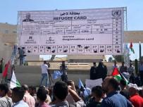 MAHMUD ABBAS - Filistinli Mültecilerden Abbas'a Dev Mülteci Kimliği