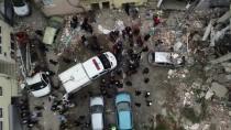DOĞALGAZ PATLAMASI - GÜNCELLEME 3 - Bursa'da Bir Binada Patlama Sonucu Yangın Çıktı