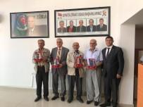 AHMET ÜNAL - Isparta Ziraat Odası'ndan Eski Başkanlara Vefa Plaketi
