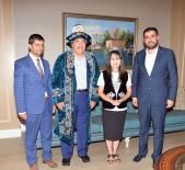 İBRAHİM ASLAN - Kazakistanlı Gazeteciler SANKO'da