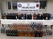 Kırklareli'nde 323 Litre Sahte İçki Ele Geçirildi