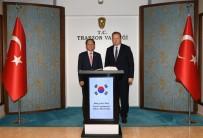 YÜCEL YAVUZ - Kore Cumhuriyeti Ankara Büyükelçisi Ghi'den Trabzon Valiliği'ne Ziyaret